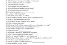 365 Questions