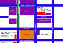 Fremont Street Map & Information / by Fremont Street Experience Las Vegas