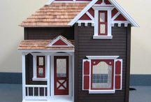 Cute dollhouses 1/12th scale