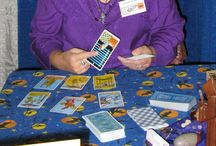 Tarot & Divination / Tarot cards, pendulums, tea leaves, Ogham staves, scrying, and more!