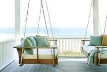 Porch Swings! / Porch Swings! / by Becki Swindell