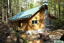 """Standard Models - DovLoc Style / A Log-on-Log we call DovLoc,  which is a 6 """"x 12″ or 8″ x 12″ square log that has a simulated chink groove on the exterior and """"V"""" groove interior. There are no physical chink gaps between the log courses."""