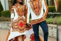 couples African prints
