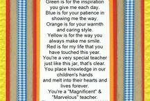 Teacher Appreciation / by Melissa Meinhold