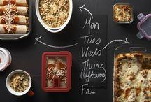 Make Ahead Meals +- Freezer
