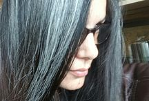 Deixando os cabelos brancos