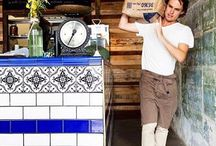 Style ~~ Decorative Subway Tiles / Beautifully ornate heritage subway tiles for Federation, Victorian and Art Deco eras.