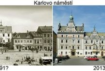 Srovnávací fotografie Kolín