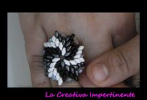 Beaded rings+tutorials