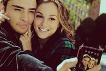Leighton Meester et Ed Westwick