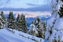 Vigiljoch - Monte San Vigilio / Das kleine Skigebiet Vigiljoch richtet sich in erster Linie an Romantiker und Genuss-Sportler -- La piccola zona sciistica del monte San Vigilio è l'ideale per settimane bianche in famiglia in un ambiente davvero idillico