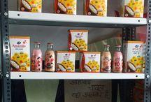 Celebrating The Grand Opening of Ananda Fullfil Store / Opening Ceremony of 144th Gopaljee #Ananda Fullfil Booth no. 6115 at Goyla Mod Deenpur Najafgarh Delhi-43.