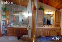 Bathroom Transformations / Before and After Photos of Our Bathroom Remodels