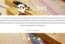Bienvenid@s!! / Bienvenid@s a la página oficial de MY FALDAS, una marca creada por y para la mujer y dedicada en exclusiva a la prenda femenina por excelencia. Nuestros diseños y tejidos exclusivos, así como nuestra apuesta por un taller social como Dona Kolors hacen de MY FALDAS una marca de diferenciada en el sector. Os esperamos. PROXIMAMENTE EN: www.myfaldas.com