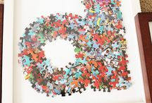 diy puzzle pieces crafts
