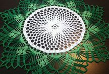 My crocheted doilies