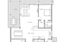 Beach houses / House plans seaview