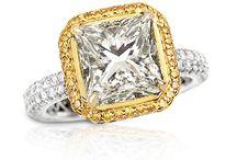 I <3 Princess Cut Diamond Rings!