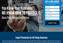 business insurance landing page