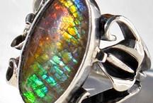 Ammolite / Ammolite Rings & Jewelry