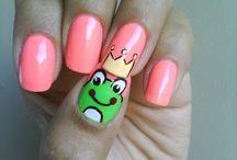 Fingernail ideas / by Carla Spann