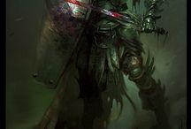 Personnage / Character / Héros, bêtes et monstres...