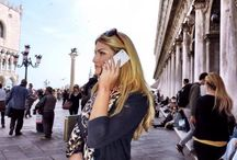 Stylish gadgets in stylish people / Stylish boys & girls with their stylish gadgets for mobile devices