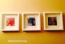 Shannon Ford Art in Collectors Homes / I am so lucky to have wonderful Art Collectors bringing my Artwork into their own homes!  Here are some photos celebrating my wonderful family of Collectors!