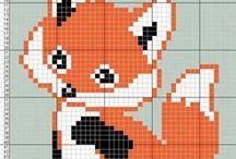 grille motif renard