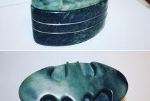 Stone Rose Carving / Beautiful stone carvings handmade in Calgary