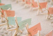 Bryllup: Bordkort