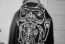 Button robes / Haida Tsimsian