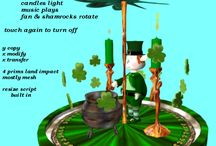 Unusual decanters in Second Life / decanters and other things I created for Second Life roleplay