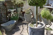 brocante tuin voorbeelden