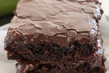 Cakes / Zuccinni brownies