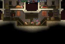 Starbound: Construções / Vários tipos de construções e inspirações para o jogo Starbount