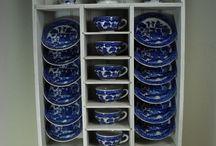 Teatime blue & white