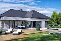HomeKONCEPT 42 | Projekt domu nowoczesnego / HomeKONCEPT 42 to atrakcyjny, niewielki dom parterowy z nowoczesnymi elewacjami oraz ciekawym i wygodnym układem funkcjonalnym.  Prezentacja projektu: http://www.homekoncept.com.pl/produkt/projekt-domu-homekoncept-42/