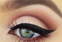 bridal make up brown eyes