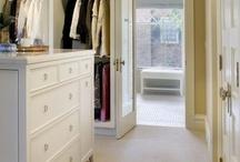 Master bedroom ensuite wardrobe