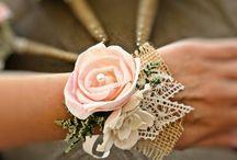 Blomsterarmband