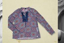 #Blusas / De algodón o seda, la #Blusa se ha convertido en una de las prendas más imprescindible en el clóset de una mujer.