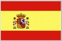 SPAIN / ESPAÑA.   cap. Madrid / PAIS.  Idiomas oficiales: Castellano, Catalán, Gallego, Euskera y Aranés