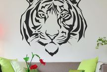 Animal Wall Decals / Vinyl Wall Decals