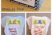 Baby shower ideas  / by Bailey Stuffel