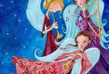 angeli e illustrazioni
