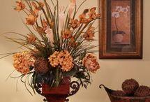 arranjos florais rústico
