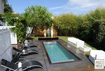 Reportage photo : une piscine à Biscarosse / Découvrez cette magnifique piscine réalisée par Piscinelle dans le Sud-Ouest de la France à Biscarosse.