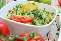 Guac / I don't know about y'all, but I can nosh on some guac. It's spicy yet refreshing, creamy yet vegan and indulgent yet full of nutrients. So let's celebrate National Chunky Guacamole Day with these recipes.  / by Jana Lynn French