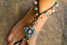 BAREFOOT SANDALS / by Barbara Postier